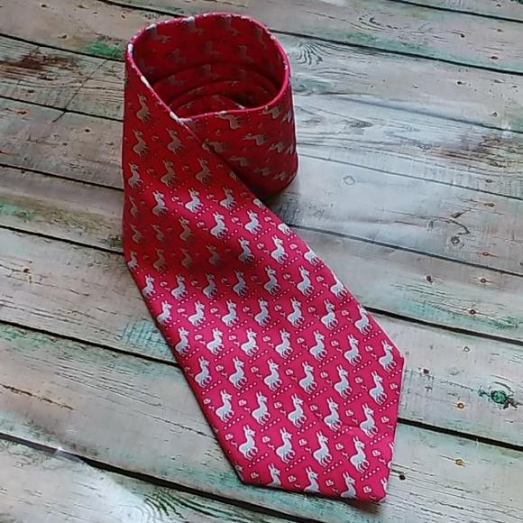 New Vesuvio Napoli Polyester Woven Men/'s Neck Tie necktie Stripes prom Coral